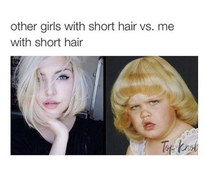 me, short hair, and girls with short hair image