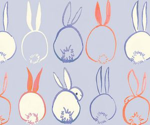 bunny and wallpaper image