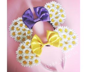 bow, bows, and disney image