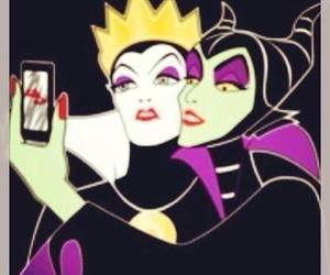 selfie, disney, and maleficent image