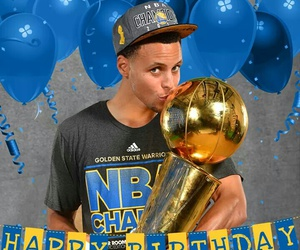 curry, happy birthday, and stephen image