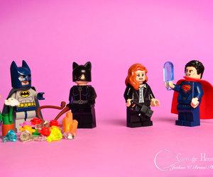 batman, lois lane, and catwoman image
