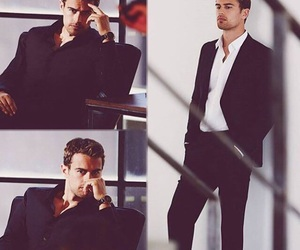 Hugo Boss, theo james, and divergent image