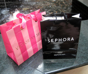 sephora, Victoria's Secret, and shopping image