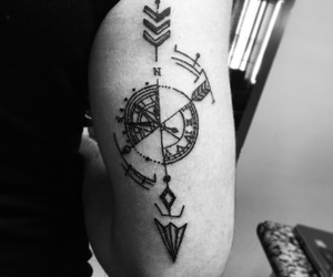 arm tattoo, forearm tattoo, and tattoo inspiration image