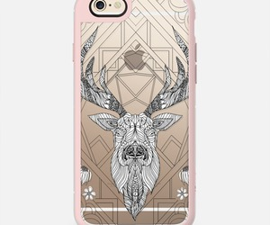 case, deer, and geometric image