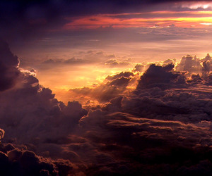 above, blue, and cloud image