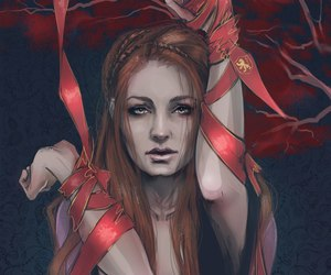 game of thrones, sansa stark, and art image