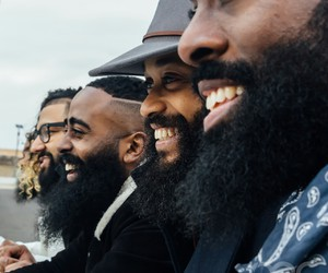 beard and men image
