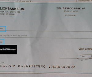 clickbank cheque image