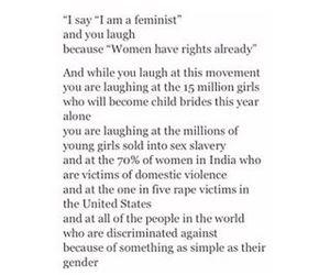 feminism, love, and pics image