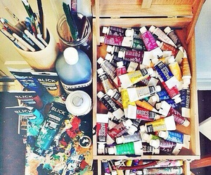 art, paint, and inspiration image