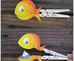 diy, fish, and cute image