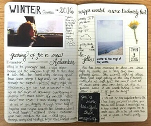 journal, diary, and book image