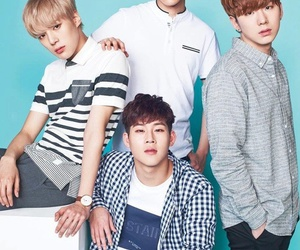 minhyuk, kihyun, and jooheon image