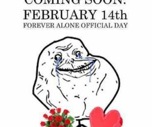 forever alone and love image