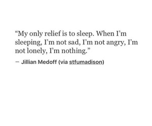 quotes, sleep, and relief image