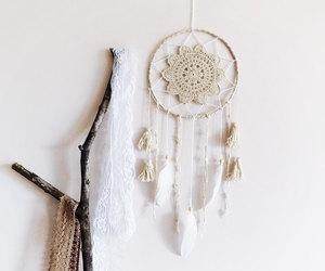 crochet, doily, and dream catcher image