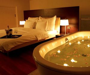 bath, bedroom, and romantic image