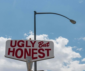 ugly, honest, and sky image