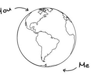 distance, true, and tumblr image