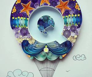paper quilling and paper art image