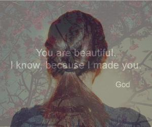 beautiful, text, and girl image