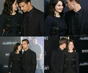 shailene, divergent, and theo james image
