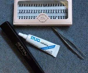 false lashes, lashes, and Maybelline image