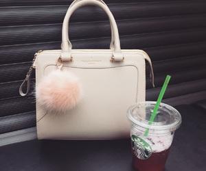 bag, fashion, and fluffy image