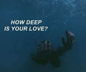 grunge, tumblr, and how deep is your love image