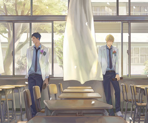 kise and aomine image