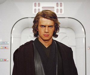 Anakin Skywalker, star wars, and hayden christensen image