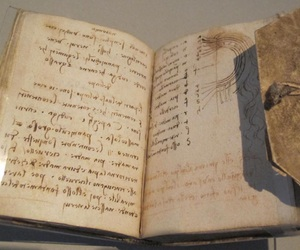 15th century, codex, and da vinci image