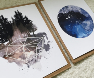 art, decor, and forest image