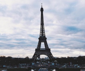 travel, city, and eiffel tower image