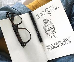 tumblr, drawing, and monday image