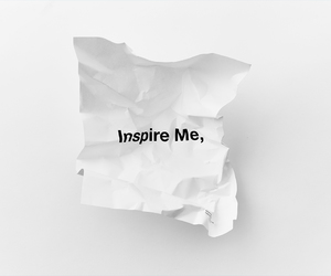 inspire, me, and white image