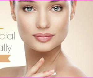 facial, home remedy, and facial hair naturally image