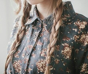 braid and vintage image
