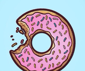 donuts, wallpaper, and pink image