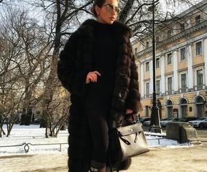 bag, fur, and look image