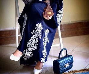 arab, bag, and dress image