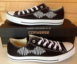 converse, arctic monkeys, and shoes image