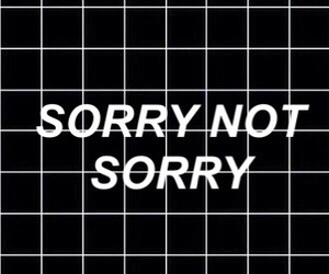 wallpaper, black, and sorry image