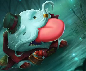 league of legends, poro, and tahm kench image