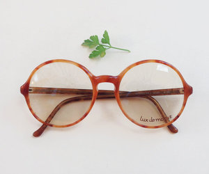 fashion, glasses, and indie image