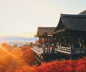 architecture, japan, and landscape image