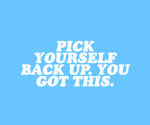 quotes, blue, and motivation image