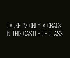 crack, Lyrics, and song image